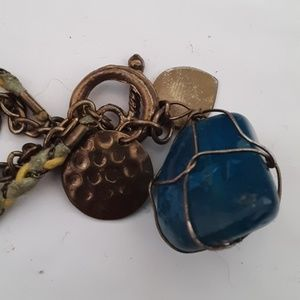 Acrylic stone bracelet vintage